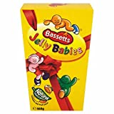 jelly baby candy - Bassetts Jelly Babies Carton (400g / 14.1 Oz)