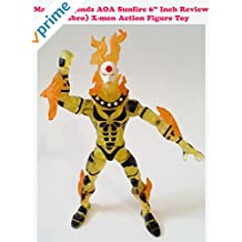 "Review: Marvel Legends AOA Sunfire 6"" Inch Review (Hasbro) X-men Action Figure Toy"