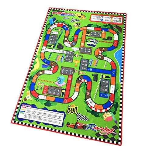 Infant Baby Kids Crawl Playing Fun Car City Racing Game Play Mat Rug Carpet Toy from Starpromise