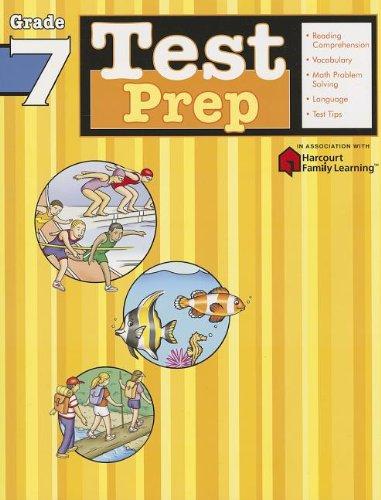 Test Prep: Grade 7 (Flash Kids Harcourt Family Learning)