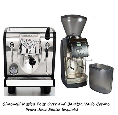 Nuova Simonelli Musica Pour Over and Baratza Vario grinder Combo