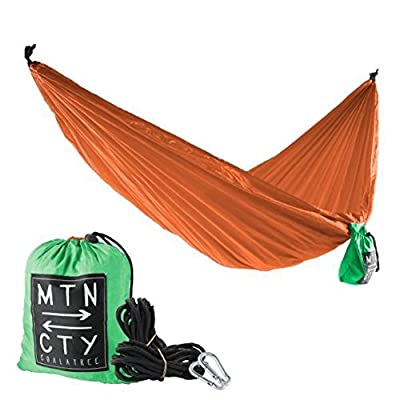 Coalatree The Loafer Hammock Orange: Sports & Outdoors