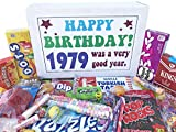 Woodstock Candy ~ 40th Birthday Ideas - Gift Box of Nostalgic Vintage Candy Assortment from Childhood - Birthday Gifts for 40 Year Old Men and Women Born 1979 Jr