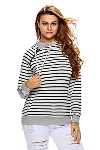 Astylish Womens Heather Pullover Sweatshirt