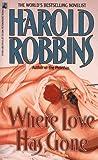Where Love Has Gone, Harold Robbins, 0671874985