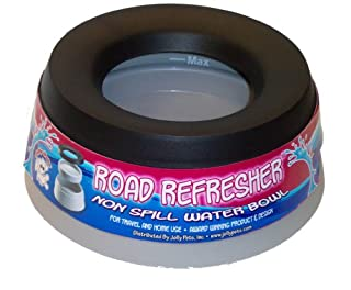 Jolly Pets Road Refresher No Spill Portable Pet Bowl 54-Ounce (B001L4M214) | Amazon price tracker / tracking, Amazon price history charts, Amazon price watches, Amazon price drop alerts