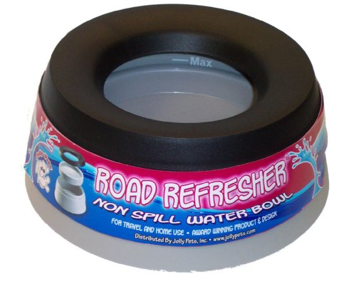 Jolly Pets Road Refresher No Spill Portable Pet Bowl 54-Ounce - Road Refresher