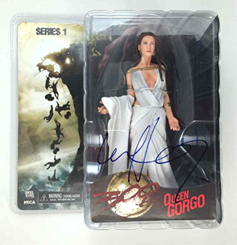 Lena Heady '300' 'Queen Gorgo' Signed Action Figure Certified Authentic PSA/DNA COA (Signed Action Figures)