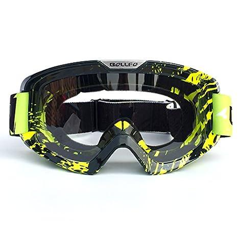 HCMAX Motociclo Occhiali Bicchieri Con Maschera Facciale Staccabile Stile Harley Casco Fog-proof A Prova di Vento Equitazione Occhiali da Sole Regalo