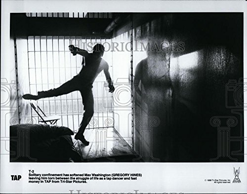 Historic Images 1988 Press Photo Actor Gregory hines as a tap dancer in movie Tap