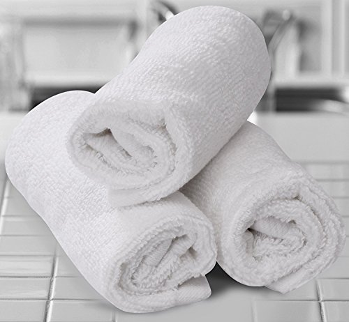 TowelPro Luxury Premium Soft 100% Cotton Highly Absorbent Machine Washable Multi-Purpose, Hotel, Spa, Home, Set of 2 Bath Mats 20'' X 34'' (White) by TowelPro