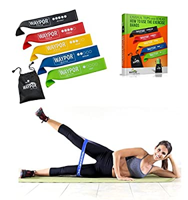 Exercise Resistance Loop Bands, 5 Distinct Strength Levels, Comes With A Carry Pouch, 3 Different Sizes To Choose, BONUS: Get Exclusive Access To Our Online Training Videos, Plus A Free E-Book!!!