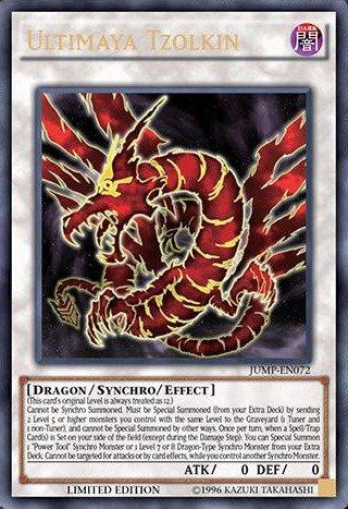 Crimson Dragon (Yu-Gi-Oh! - Ultimaya Tzolkin (JUMP-EN072) - Shonen Jump Magazine Promos - Limited Edition - Ultra)