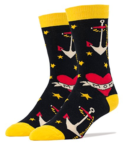 Oooh Yeah Socks ! - Mens Crew - Sailor Ink (Sailor Outfits For Men)