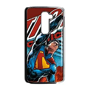 Superman in Action LG G2 Cell Phone Case Black DIY GIFT pp001_8148990