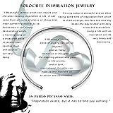Solocute Gift for Women Inspirational Bracelet, The
