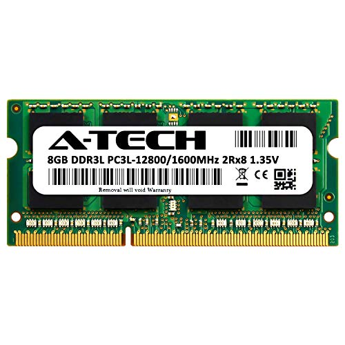 HP 693374-005 A-Tech Equivalent 8GB DDR3 1600 PC3-12800 SODIMM Laptop Memory RAM