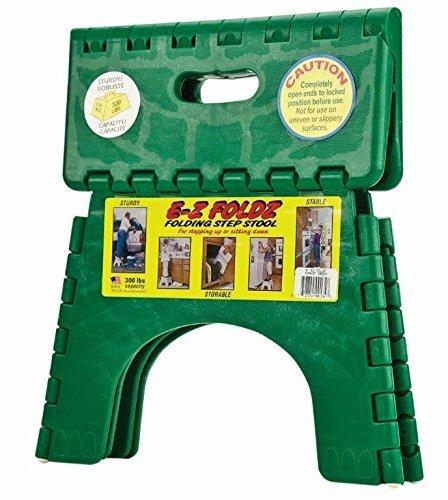 (B&R Plastics 101-6FG E-Z Foldz Step Stool - 9