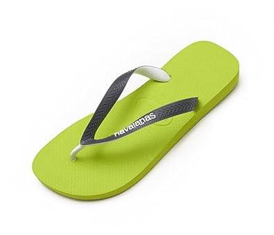 a1bc05c0f Havaianas Top Mix Lemon Green Strap Flip Flops Thongs Unisex Size Brazil  Beach  Amazon.co.uk  Shoes   Bags