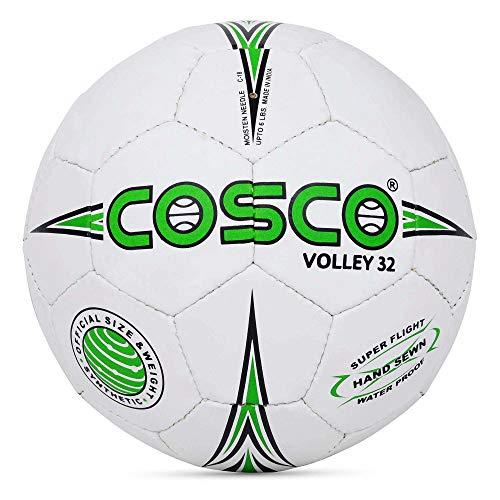 Cosco 32 Nylon Volley Ball,  Multicolour, Size 4, 15008