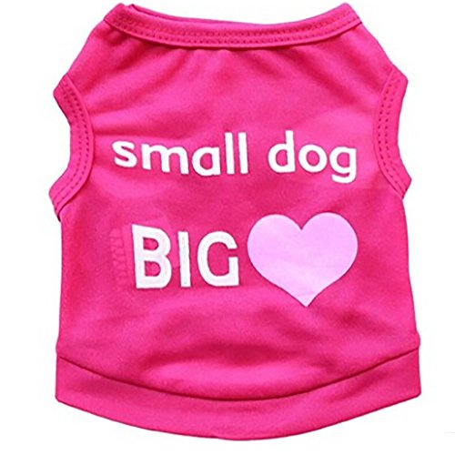 NEARTIME Puppy Clothes, Small Dog Cat Pet Dress Fly Sleeve Dress for -