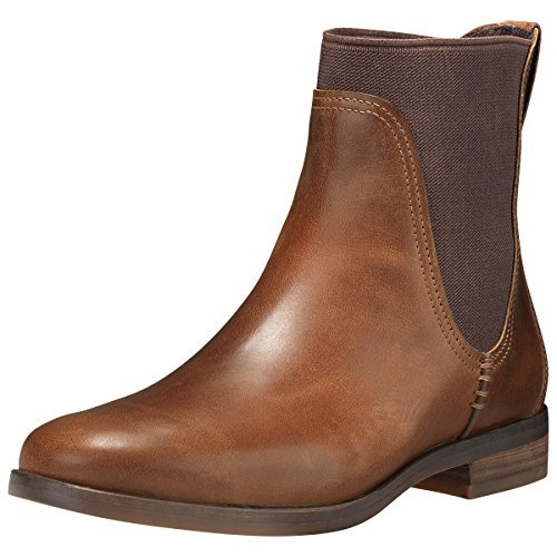 Timberland Women's Somers Falls Chelsea Boot Medium Brown Full-Grain 7.5 B US