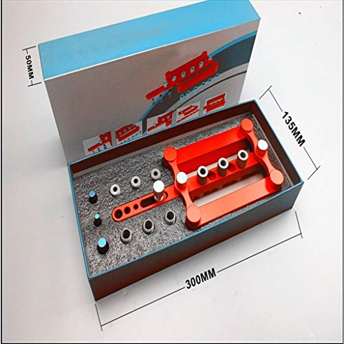 Self Centering Dowelling Jig, for Metric Dowels 6/8/10mm Precise Drilling, Jig Accessories Woodworking Tool by Beikal (Image #5)