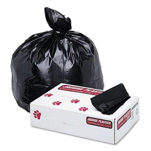 Jaguar Plastics Low-Density Commercial Can Liner, 60gal, ...