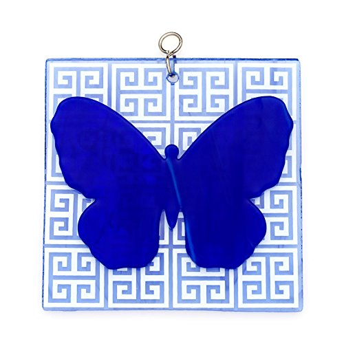 Switchables Fused Blue Butterfly (Butterfly Fused Glass)