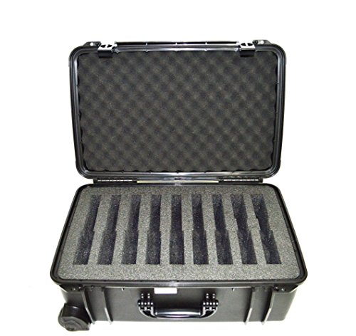Quick Fire Cases QF920S Range Case, Black, Medium by Quick Fire Cases