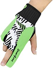 Boodun Professional Silicone Antiskid Bowling Glove Left Right Hand Wrist Support Thumb Protector