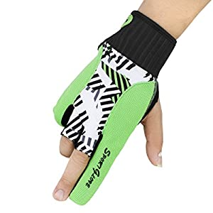 Snow Fox Sports Boodun Bowling Gloves Left Right Hand Professional Silicone Antiskid Wrist Support Thumb Protector for Women Men