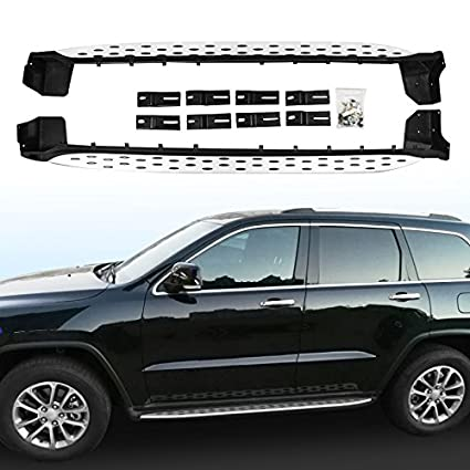 HEKA Side Step Fit For JEEP Grand Cherokee 2011 2018 Running Board Nerf Bar