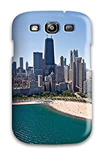 New Cute Funny Chicago City Case Cover/ Galaxy S3 Case Cover