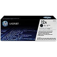 HP 12A (Q2612A) Black Original Toner Cartridge for HP LaserJet 1012 1018 1020 1022 3015 3020 3030 3050 3052 3055 M1319