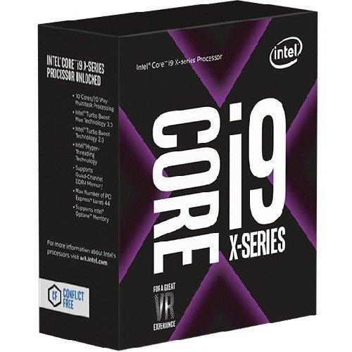 Intel Core i9-7900X X-Series Processor 10 Cores up to 4.3 GHz Turbo Unlocked LGA2066 X299 Series 140W