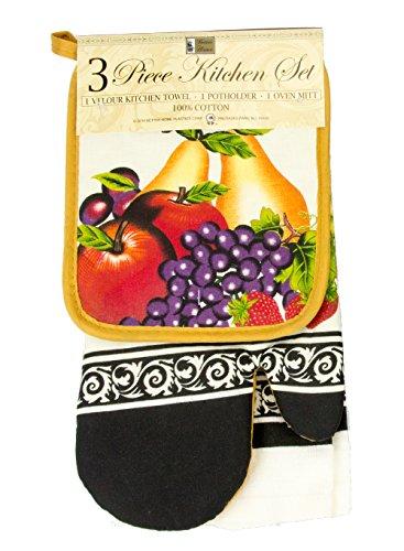 Authentic Kitchen Linens Apron Towel