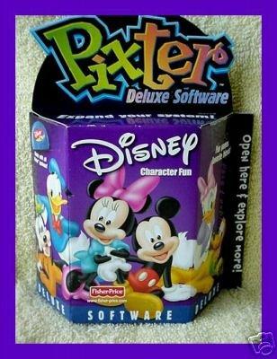 Pixter Deluxe Software Disney Character Fun by Pixter