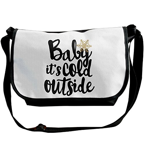 (Crossbody Bag Baby It's Cold Outside Christmas Holiday Crossbody Messenger Bag)