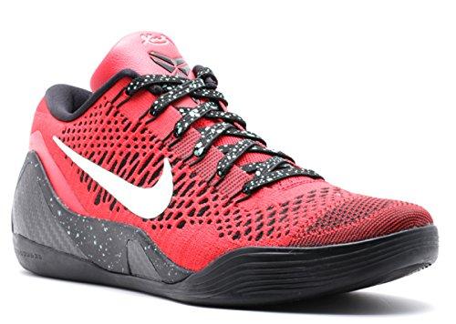 Nike Kobe 9 Élite Faible - 639045-600 - Nous Rouge Universitaire Taille, Noir