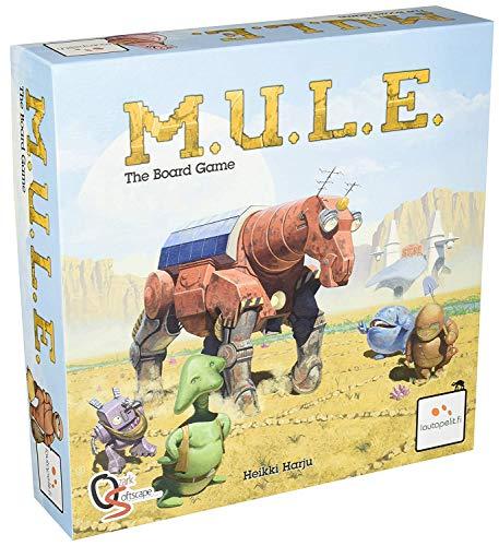 M.U.L.E. The Board Game (Energy Game Board)