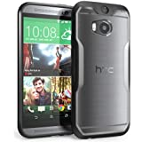 Supcase Unicorn Beetle Hybrid Protective Case for HTC one M8 - Clear/Black