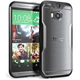 htc one phone accessories - HTC One M8 Case, SUPCASE Unicorn Beetle Premium Hybrid Protective Case for All New HTC One M8 2014 Release (Frost Clear/Black)