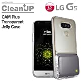 Voia G5 CAM Plus Clean Up Transparent Jelly Case For LG CAM Plus & G5 - LG OEM