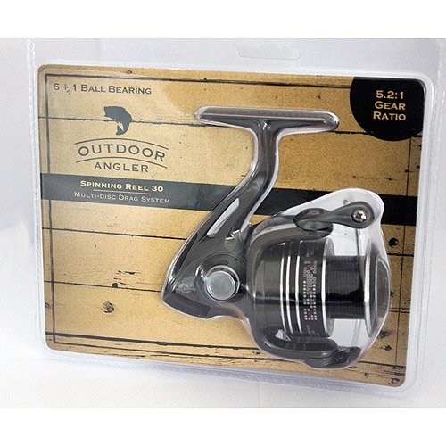 outdoor angler spinning reel - 1