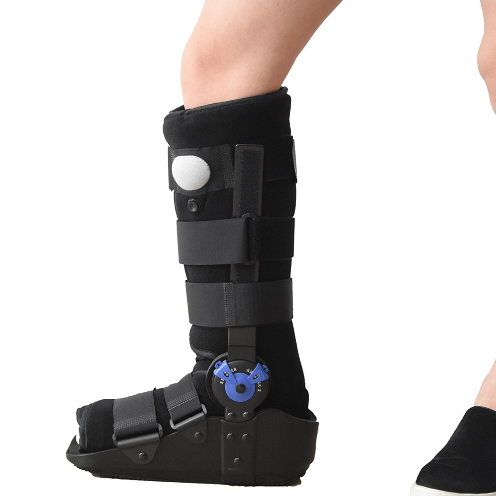 Hinged Aircast Walker Boots Ankle braces Fracture Boots ,fit foot length 7.87''-13.78''