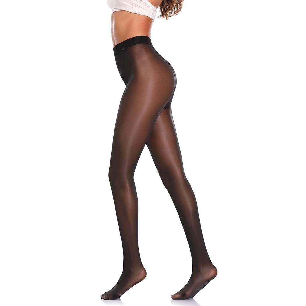 Sheer Pantyhose for Women, Control Top Sheer Tights Nylon Pantyhose Socks Diy Dutting Stockings Joyshaper