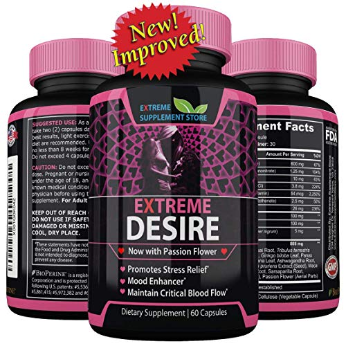 Extreme Desire It's Like Viagra for Women. with Tribulus Terrestris for Max Herbal Results. This Womens Libido Booster is A Sexual Enhancer. Female Horny Pills Bring Natural Enhancement, Not ()