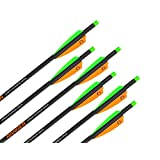 """Wicked Ridge by TenPoint Crossbows 18"""" Ranger Carbon Crossbow Arrows (6 Pack) (HEA-201.6)"""