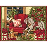 LANG Perfect Timing Christmas Morning Boxed Christmas Cards 18 Cards with 19 Envelopes (1004718)